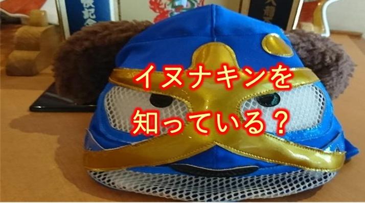 キミは【イヌナキン】を知っているか?【泉佐野市のゆるキャラ?】