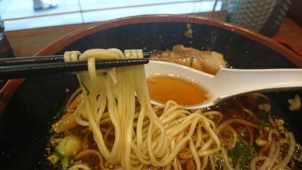 福山ラーメンの麺