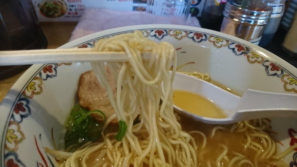 昔ながらの中華そば麺
