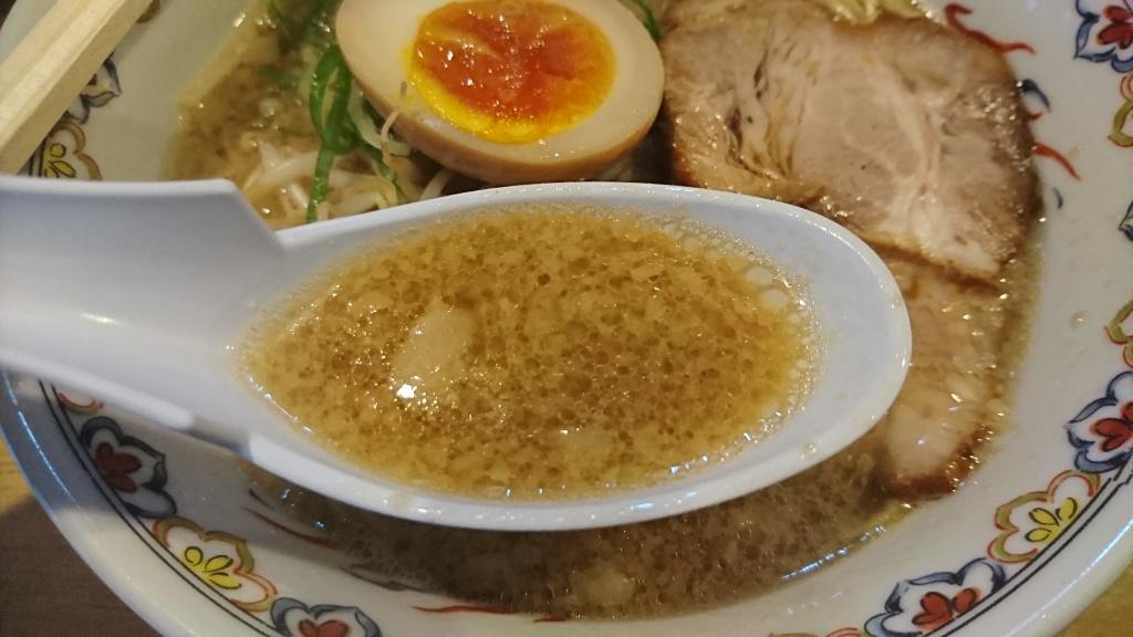 がんぼ醤油そばスープ