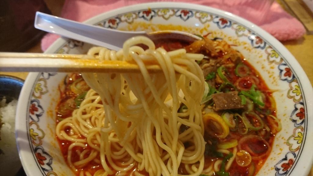 がんぼ赤そば麺