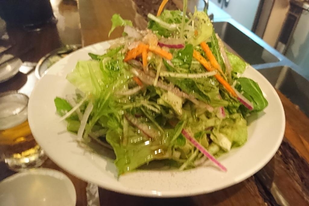 ゴン太のサラダ