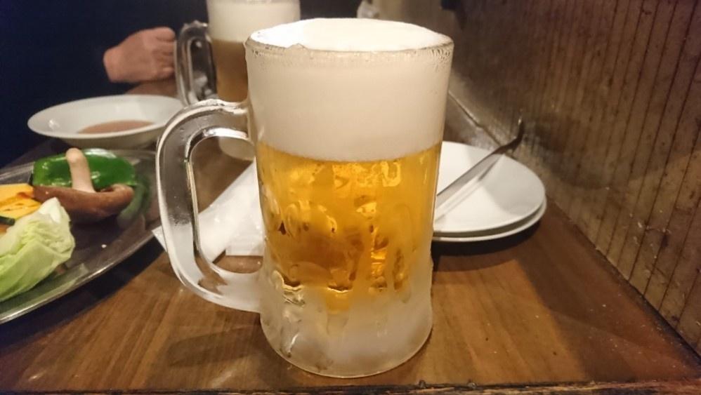 ゴン太の生ビール